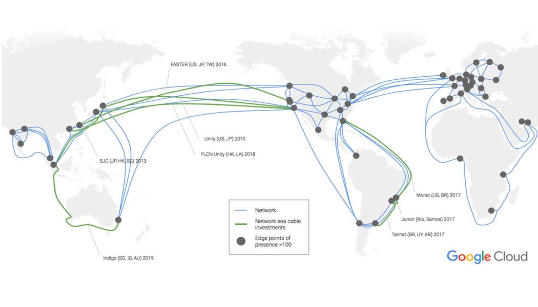 Google offers network flexibility to the end customer with new Network Service Tiers