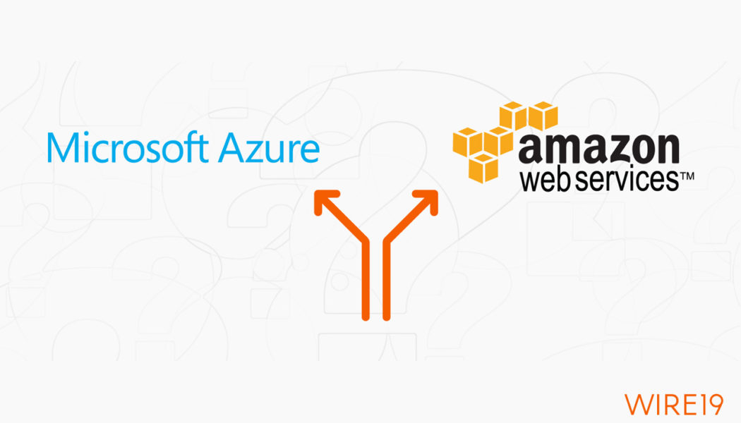 New Cloud Service Map from Microsoft compares all services of Azure and AWS