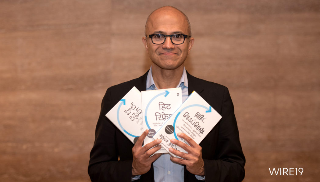 "Microsoft CEO shares his vision for better societies and organizations with disruptive technologies in his ""Hit Refresh"""