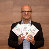 """Microsoft CEO shares his vision for better societies and organizations with disruptive technologies in his """"Hit Refresh"""""""
