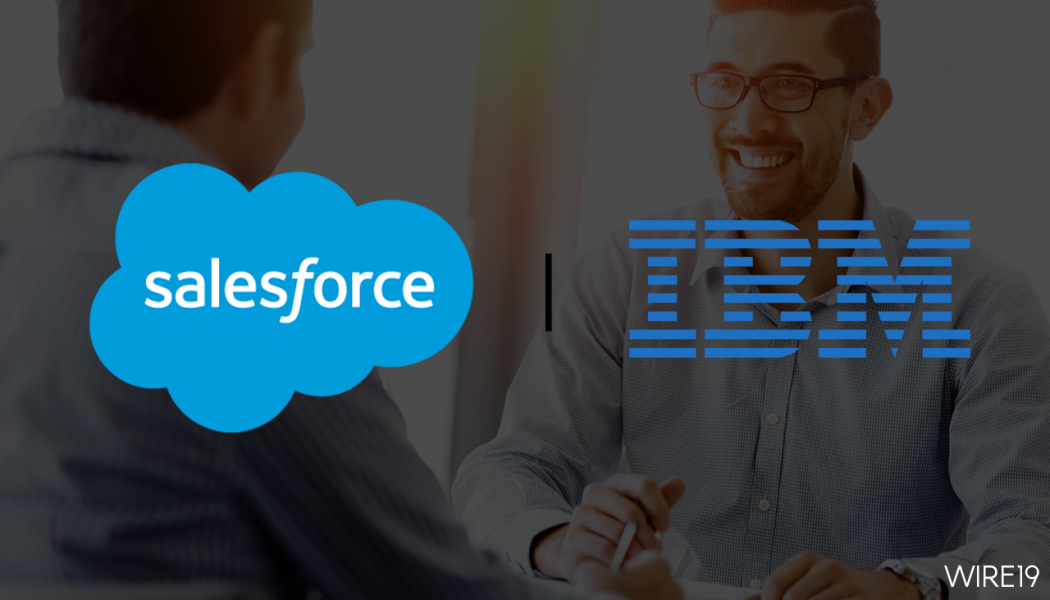 IBM and Salesforce announce availability of joint solutions leveraging AI platforms Watson and Einstein