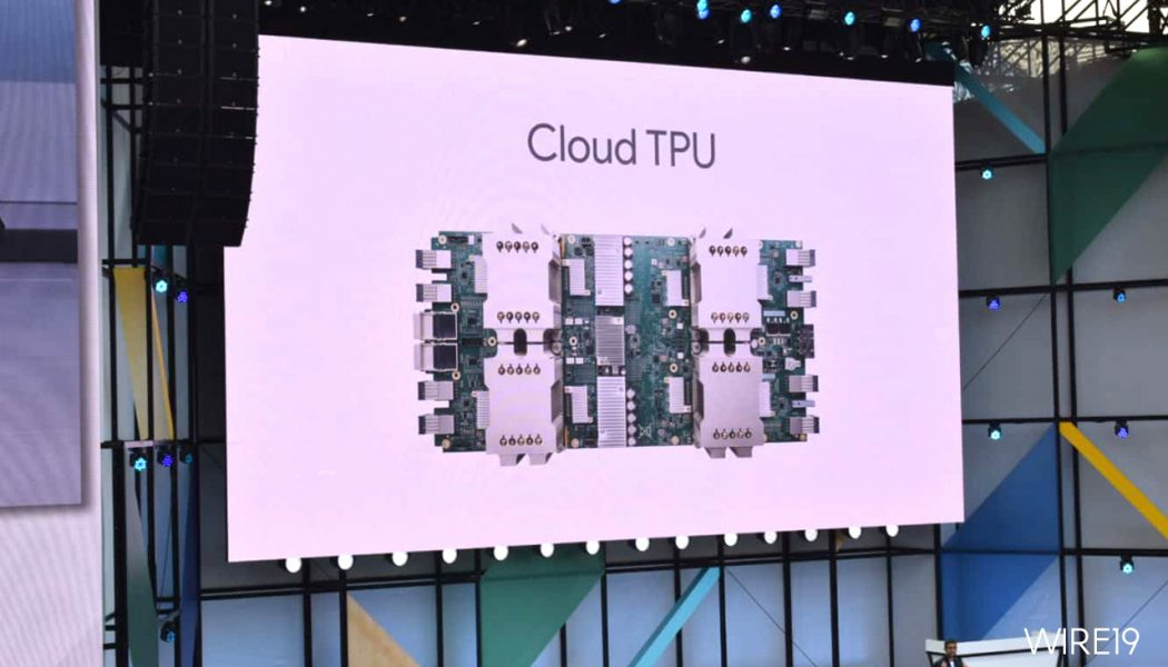Google's Cloud TPU chips now available in beta on its public cloud