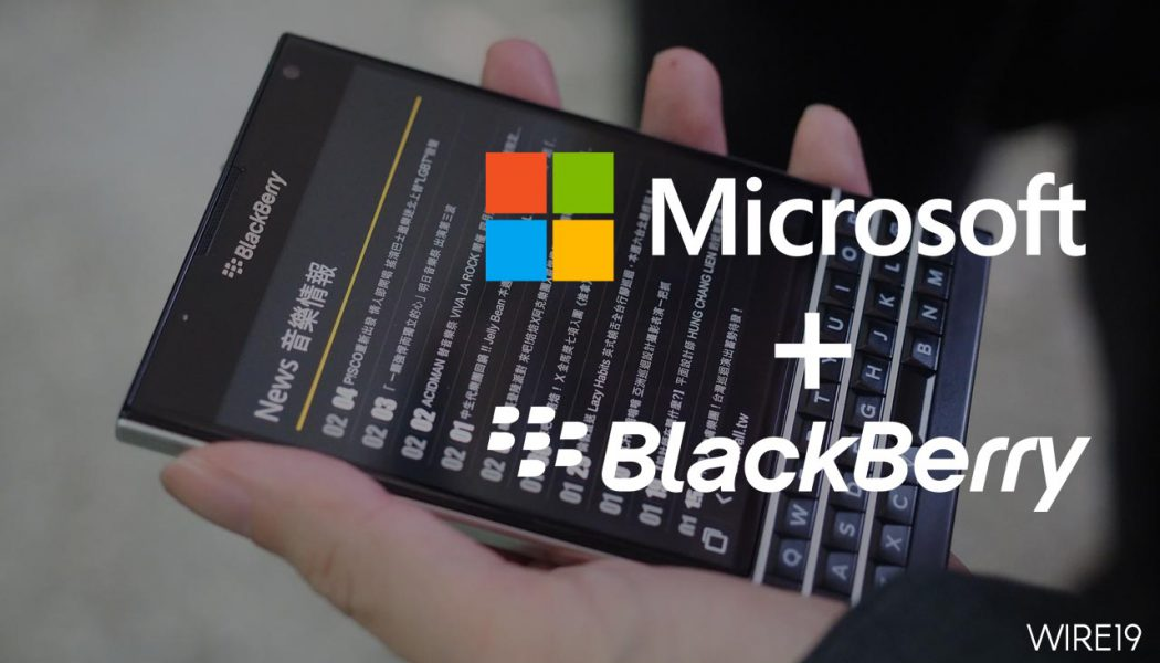 MicrosoftandBlackBerrypartner toempower mobileusers with secure, seamless productivity