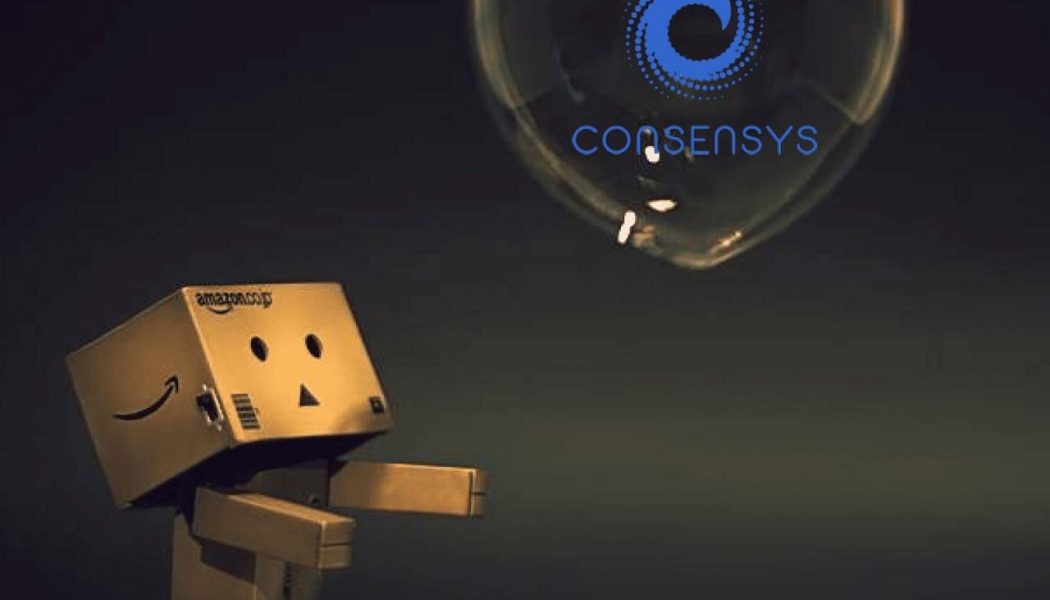 AWS partners with Consen Sys to drive seamless adoption of blockchain among enterprises