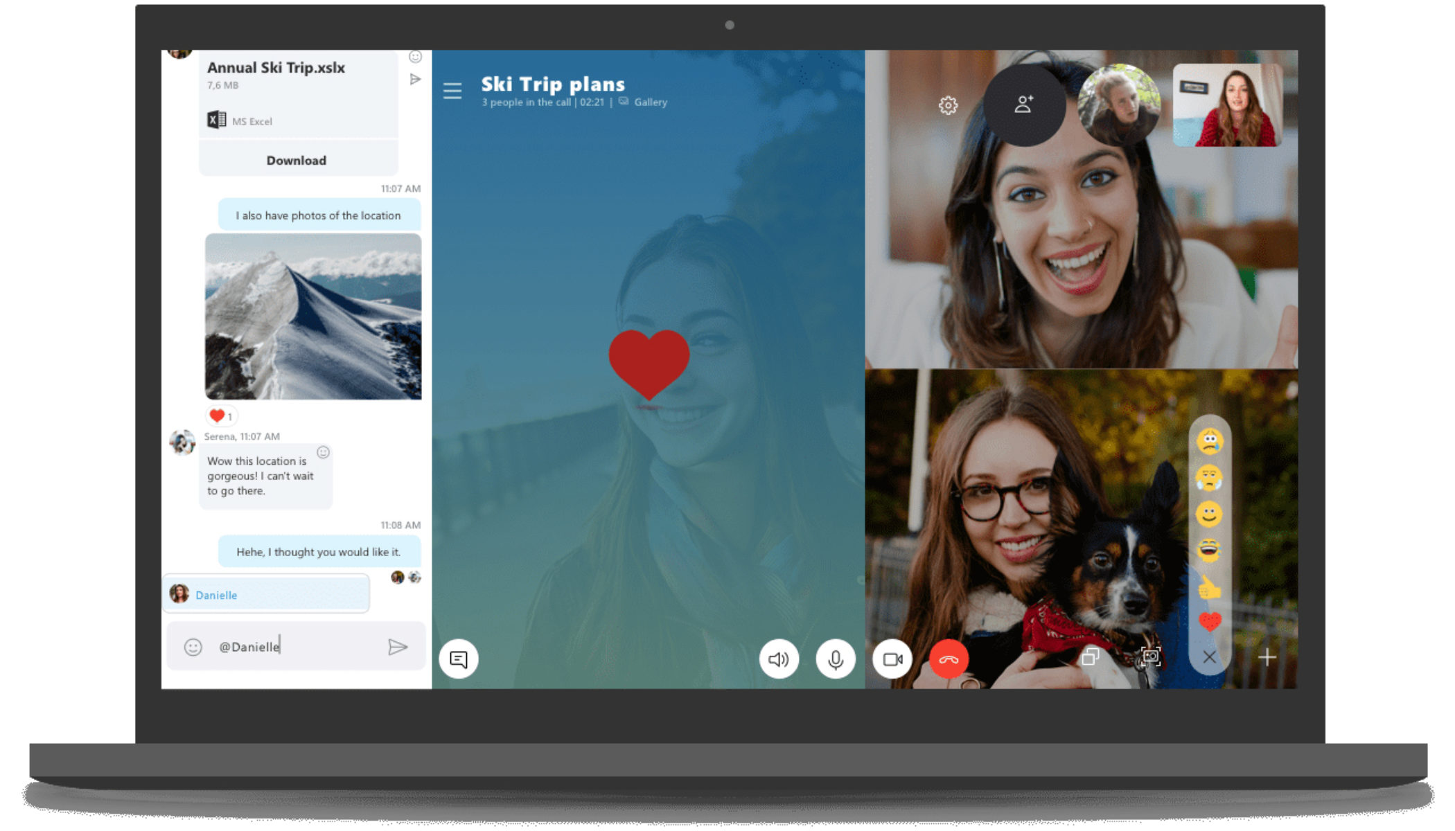Skype to bring back split view for chat screens in latest version