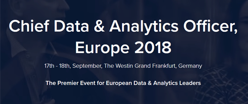 Chief Data and Analytics Officer, Europe 2018