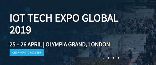 IoT Tech Expo Global, 2019
