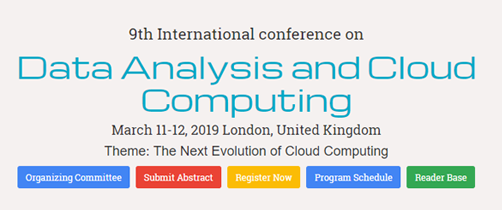 Data Analysis and Cloud Computing 2019