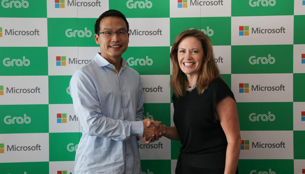 Microsoft and Grab