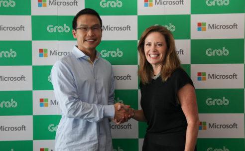 Microsoft and Grab