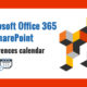 Microsoft Office 365 and SharePoint Conferences calendar 2019