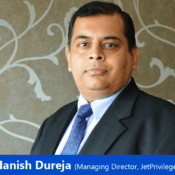 """""""The role that chatbots and AI has played in marrying a marketer's objectives with the customers' needs has been huge""""— Manish Dureja, Managing Director, JetPrivilege"""