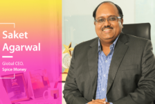 Saket Agarwal, Global CEO, Spice Money