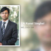 CA Kunal Singhal, MD, Eazy ERP