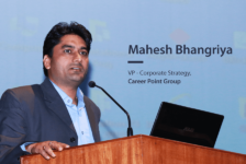 """We use AI, ML and AR to advance the frontier of learning by simulating real-world environments""— Mahesh Bhangriya, VP- Corporate Strategy, Career Point Group"