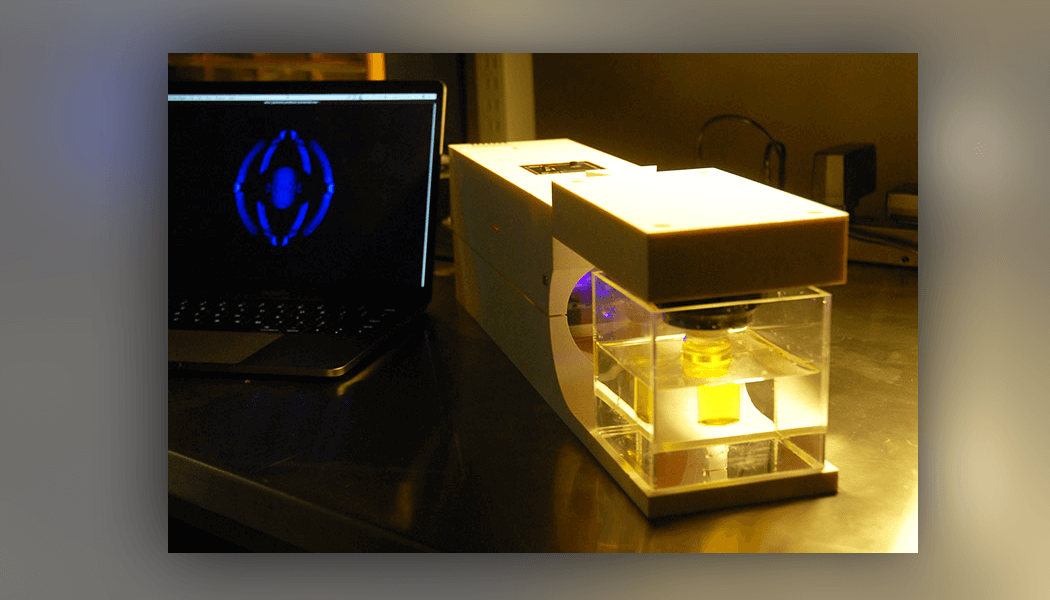 Light based 3D printer shapes custom objects from liquid resin