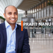 """Blockchain has a great potential to become the preferred way to conduct cross-border money transfers."" – Prajit Nanu, CEO, InstaReM"