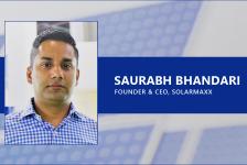 Saurabh Bhandari, Founder & CEO, SolarMaxx