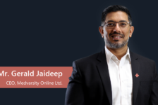 interview with Mr Gerald Jaideep, CEO, Medvarsity Online Ltd.