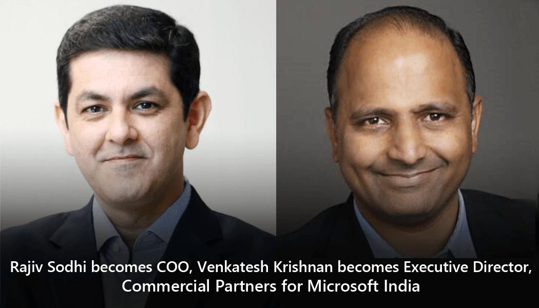 Rajiv Sodhi becomes COO
