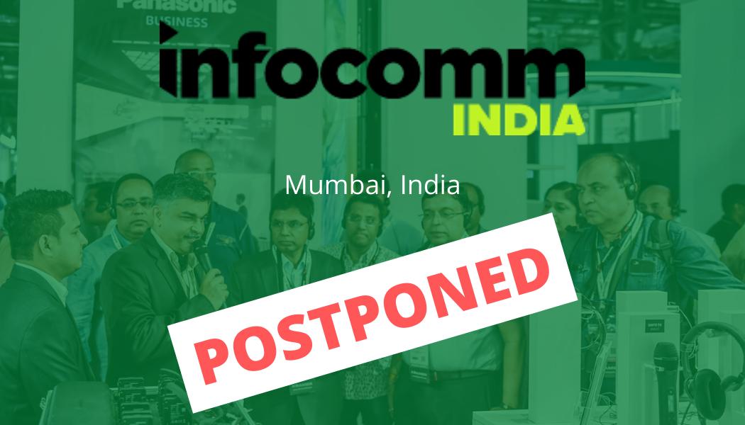 InfoComm India 2020