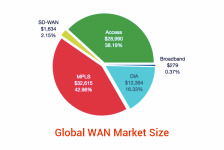 TeleGeography Report Reveals the Global WAN Market was Worth $75.9 Billion in 2020